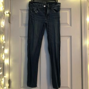 Skinny American Eagle Blue Jeans